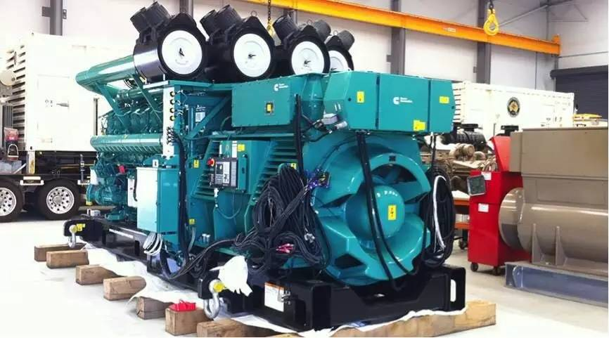 Cummins QSK 95 Series Diesel Generator Set Has Prominent Advantages