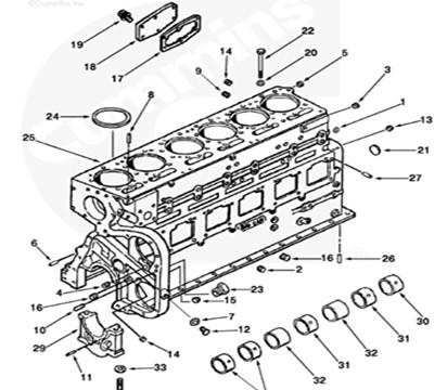 M11 NTA855 KTA19 KTA38 KTA50 Cummins Engine Spare Parts